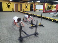 Prowler sprints @ Hostyle Youth Conditioning