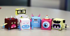 Blog Paper Toy