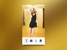 UI for Fitting room