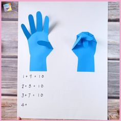 Fun way to practise Math for young learners! 😉 – Fun way to practise Math for young learners! Toddler Learning Activities, Fun Activities For Kids, Educational Activities, Preschool Activities, Crafts For Kids, Math For Kids, Fun Math, Maths, Teaching Aids