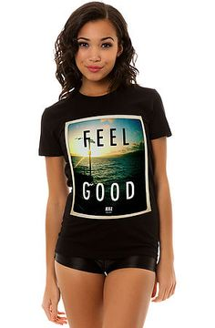 The Feel Good Tee in Black by Kill Brand. Use code cbh1995 to get 20% your first order, and 10% your next!