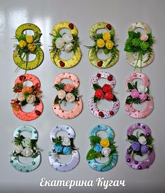 Topiary from Katyusha Kugach =) Candy Flowers, Felt Flowers, Diy Flowers, Paper Flowers, Diy Craft Projects, Diy And Crafts, Crafts For Kids, Projects To Try, Ribbon Crafts