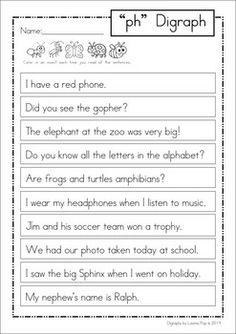 12 best ph images on pinterest grade 1 kindergarten phonics and digraph ph phonics word work multiple phonograms ibookread Read Online