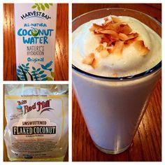 coconut cream - isAgenix protein shake