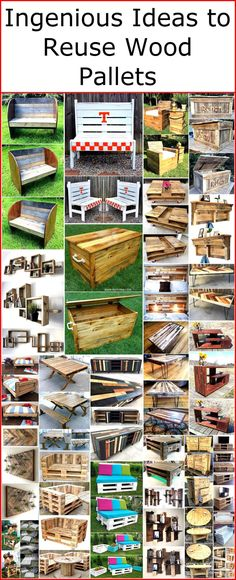 For this purpose wood pallet is there to serve you smartly and wondrously. These pallet crafts are so easy to craft that you can easily make them your own. Crafting furniture for your own area is interesting activity as well. These wood pallet ideas ends up the final look of your place with their mesmerizing and excellent look.