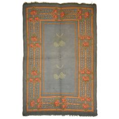 Arts & Crafts Donegal Rug attributed to Gavin Morton  COUNTRY: Ireland CREATION DATE: circa 1910 MATERIALS: Hand knotted in wool on a wool foundation