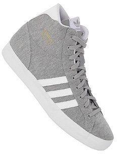 ADIDAS Womens Basket Profi medium grey heather/aluminium/running white auf shopstyle.de