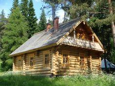 Бревенчатый дом на опушке леса, рядом с озером, в 95-ти км от МКАД по Симферопольскому шоссе
