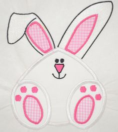 Easter Bunny Applique from Sassy Appliques and More