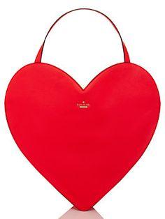 love birds heart tote, desert rose | A Valentine's/Anniversary gift from Andrew!