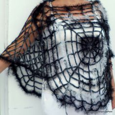 Vintage Romantic Crochet Collar Capelet Women by GiftsPoint