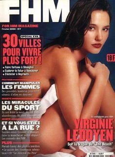 Virginie Ledoyen, FHM Magazine February 2000 Cover Photo - France