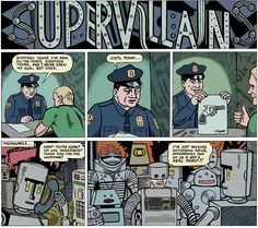 Supervillains by Michael Kupperman