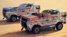 dakkar rally 1988 de rooi and  van de rijt