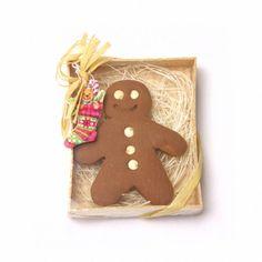 Coffret miniature : homme de pain d'épice par DinkyWorld sur Etsy