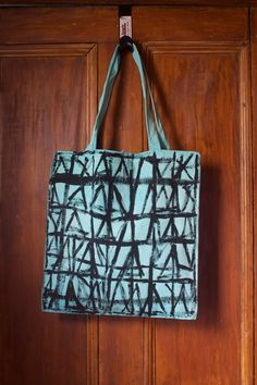 Graphic, Tribal inspired tote bag