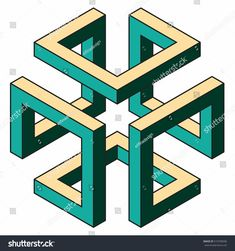 Find Isometric Figure Space Geometry Vector Illustration stock images in HD and millions of other royalty-free stock photos, illustrations and vectors in the Shutterstock collection. Geometric Designs, Geometric Shapes, Wood Laser Ideas, Impossible Shapes, Workbench Designs, Geometric Origami, Graph Paper Art, Pixel Design, Typography Poster Design