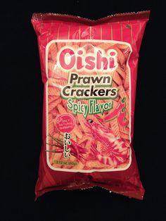 Oishi Prawn Crackers Spicy Flavor. Filipino Food, Filipino Recipes, Snack Recipes, Snacks, Prawn, Crackers, Philippines, Spicy, Chips