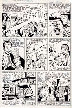 Steve Ditko and Al Milgrom Incredible Hulk Annual #9 Page 11 Original Art