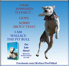 Wallace the Pit Bull story. Will finish reading this in September 2013. Good book.