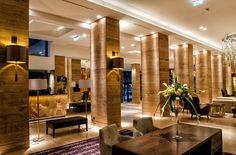 The Metropol Palace hotel lobby