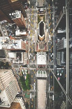 Shows the winding streets & buildings from above. New York NYC New York City Travel Honeymoon Backpack Backpacking Vacation Empire State Building, New York City, New York Street, Oh The Places You'll Go, Places To Visit, A New York Minute, Ellis Island, Yankee Stadium, To Infinity And Beyond