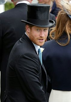 Prince Harry attends day 1 of Royal Ascot at Ascot Racecourse on June 14, 2016 in Ascot, England.