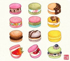 Image may contain: food Food Stickers, Kawaii Stickers, Cute Stickers, Cute Food Drawings, Cute Animal Drawings Kawaii, Arte Do Kawaii, Kawaii Art, Cute Food Art, Cute Art