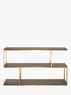 Buy Content by Terence Conran Balance Metal Low Table/Shelving Unit from our Bookcases, Shelving Units & Shelves range at John Lewis & Partners. Small Shelving Unit, Shelves, Extra Storage Space, Storage Spaces, Storage Units, Home Living Room, Living Spaces, Terence Conran, Tv Unit Design