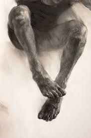 Detail of charcoal drawing on stretched canvas by Curagău Pavel Figure Painting, Figure Drawing, Painting & Drawing, Life Drawing, Drawing Sketches, Art Drawings, Body Drawing, Kunst Online, You Draw