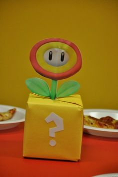 Super Mario brothers table decoration