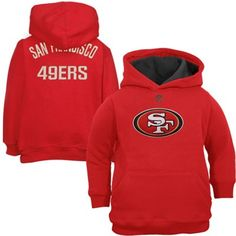 3a251a628 San Francisco 49ers Toddler Gameday Performance Hoodie - Scarlet 49ers  Outfit