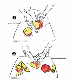 Easiest way to core and slice an apple