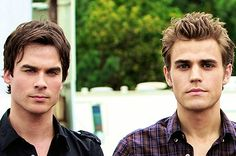 <b>Damon and Stefan - making us swoon since 1864.</b>