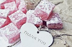 Design & Scribble: Pink Rosewater Turkish Delight