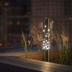 Our Light Column #Bollard with Bubbles shield delivers the wow factor by bringing unexpected details to your outdoor space