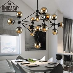 Pendant Lights Black Hot Iron Modern The Lamps And Lanterns Vintage Light Lighting Bar Amber Glass Ceiling Lamp Kitchen