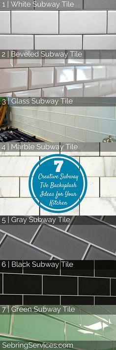 7 Creative Subway Tile Backsplash Ideas for Your Kitchen - Sebring Services
