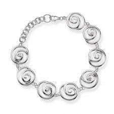 Hot Diamonds Silver Spiral Bracelet DL246 Bracelets For Men, Bangle Bracelets, Bangles, Silver Diamonds, Sterling Silver Bracelets, Jewelry Stores, Diamond Jewelry, Diamond Cuts, Jewelry Accessories
