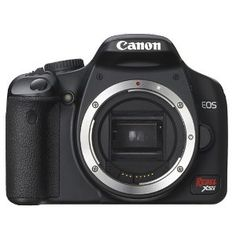 Canon Digital Rebel XSI 12MP Digital SLR Camera | Click Image For More Information or To Buy It