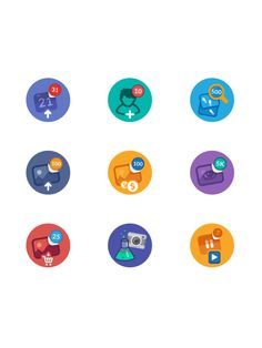 Icon sets pack on Behance
