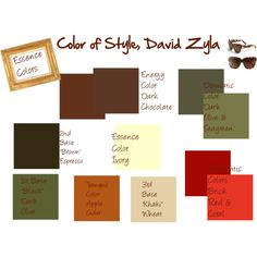"""Farb-und Stilberatung mit www.farben-reich.com - """"Color Your Style: Essence Colors"""" by jeaninebyers on Polyvore"""