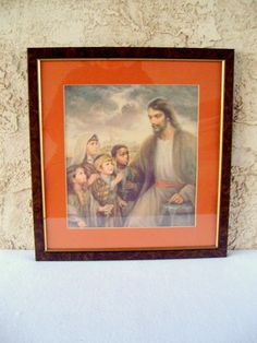 Beautiful Print of Jesus and the Children Framed  by NostalgicHome, $36.00
