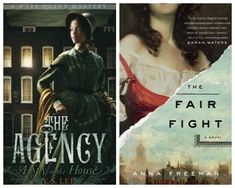 Read This, Then That: 5 YA/Adult Novel Pairings - The Agency, The Fair Fight