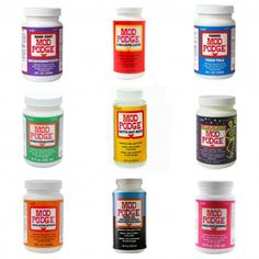 Every Single Mod Podge Formula - Explained! - Mod Podge Rocks - - Are you curious about the Mod Podge formulas? Do you want to learn what each one does and get sample projects? Learn more here! Diy Mod Podge, Mod Podge Crafts, Mod Podge Ideas, Crafts To Make, Fun Crafts, Arts And Crafts, Bead Crafts, What Is Mod, Transférer Des Photos