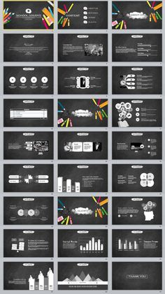 22+ annual report creative powerpoint template | powerpoint, Modern powerpoint