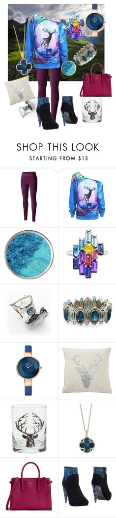 """""""Monarch of the glen x"""" by niknack-nr ❤ liked on Polyvore featuring Columbia, Daou, Caroline Stokesberry-Lee, Konstantino, Pottery Barn, Effy Jewelry, Furla and Fabi"""