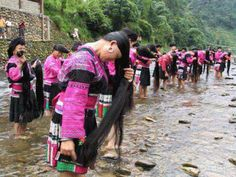 Amazing Water Towns & Villages around the world | These Chinese women have taken their long hair to new lengths making a Guinness World Record as the world's first long hair village.