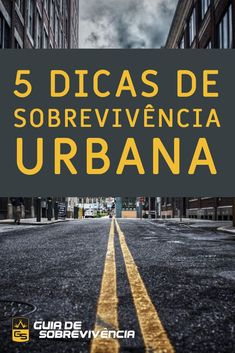 Sobrevivência Urbana: 5 Dicas Essenciais - Guia de Sobrevivência Bushcraft, Sidewalk, Military, Dodge, Apocalypse Survival, Survival Books, Urban Survival, Simple Life Hacks, Survival Items