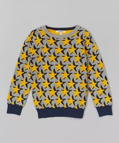 Vintage Gray Heather Star Pullover - Infant & Boys